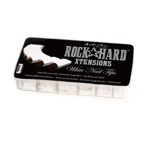 RockHard_Xtensions_White_Nail_Tips