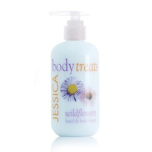 body treats - wildflowers lotion