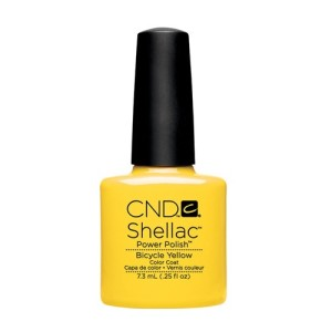 Shellac Paradise Collection - Bicycle Yellow