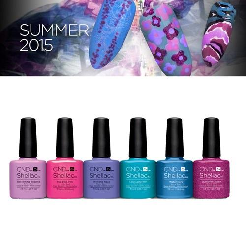 Nail Colours Summer 2015 Summer 2015 Shellac Nail