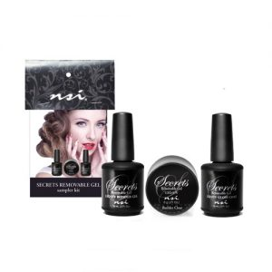 secrets removable gel- sampler kit