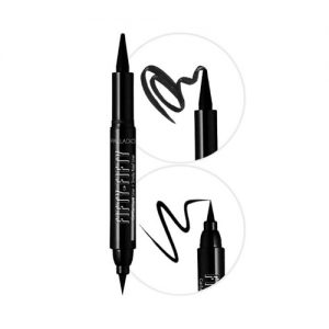 fifty fifty cat eye liquid liner & smokey kajal liner