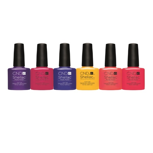Shellac Light CND Shellac – New Wave Collection Spring 2017 – All 6 ...