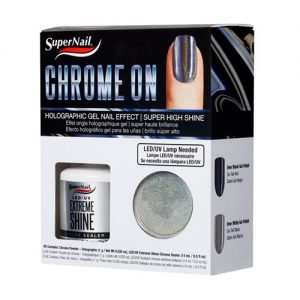 holographic - chrome on