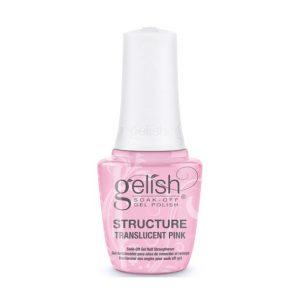 translucent pink structure