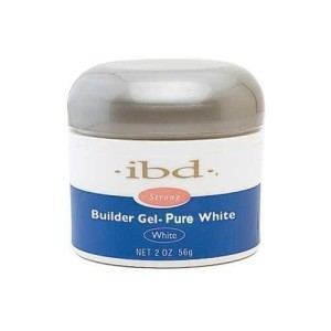 ibd builder gel - pure white 2oz