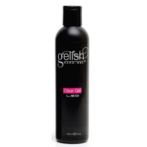 Gelish Hard-Gel LED Clear Gel 8oz