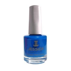 jessica nail colors - blue blast