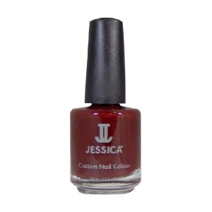 jessica nail colors - cherrywood