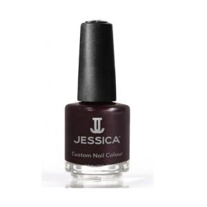 jessica nail colors - dangerously dark