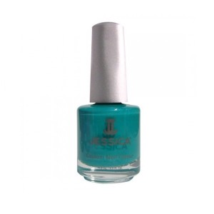 jessica nail colors - electric teal