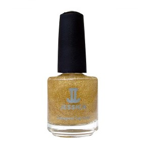 jessica nail colors - gold hologram