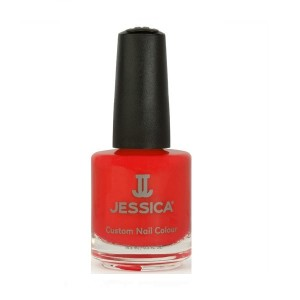 jessica nail colors - shock me red