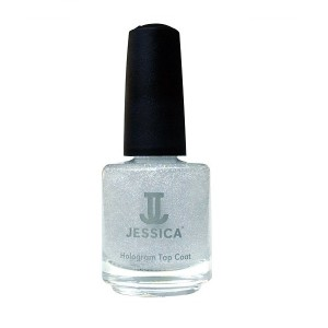 jessica nail colors - silver hologram