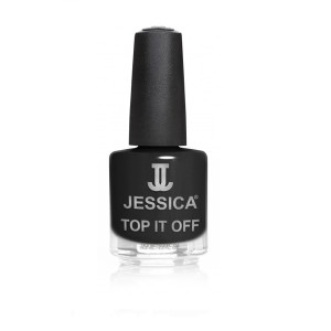 jessica nail colors - top it off black python