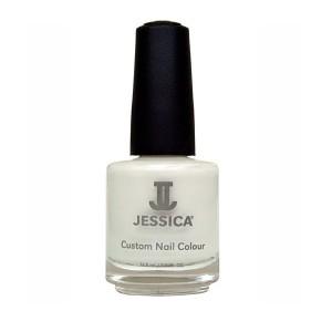 jessica nail colors - white cap