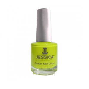 jessica nail colors - yellow flame