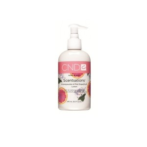 scentsations lotion - honeysuckle & pink grapefruit