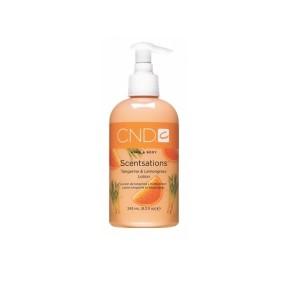 scentsations lotion - tangerine & lemongrass