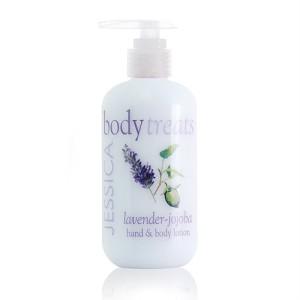 body treats - lavender jojoba lotion