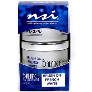 brush on french white
