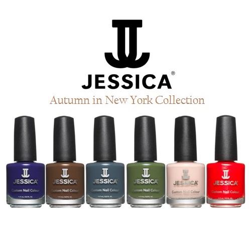 Jessica Orange Nail Polish: Autumn In New York Collection 2014