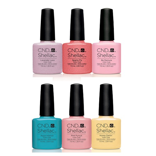 Super CND Shellac – Flirtation Collection Summer 2016 – All 6 Colors  PG04
