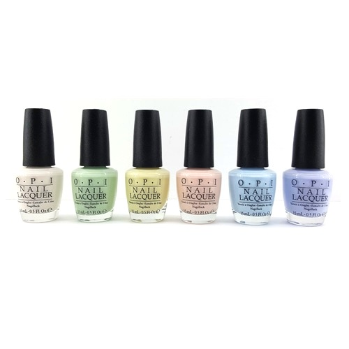 OPI Nail Lacquer Softshades Pastels Collection All 6 Colors 15ml 05oz Each