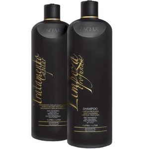 Brazillian Keratin Shampoo and Moroccan Hair Treatment Kit - 1 liter