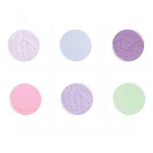polished in pastels collection