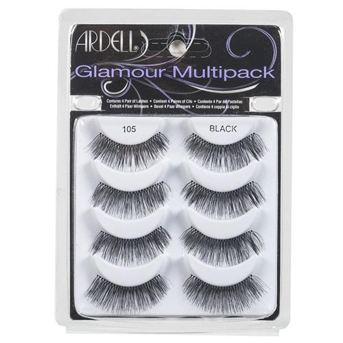 Ardell Glamour Multipack Lashes Black 105 Ella Gray