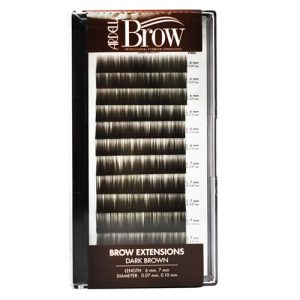 dark brown - eyebrow extensions