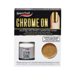chrome on - gold