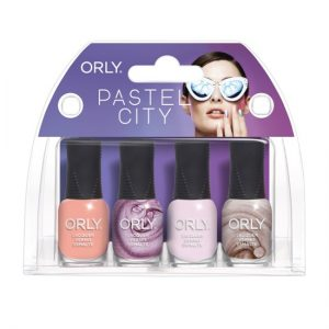 pastel city minis
