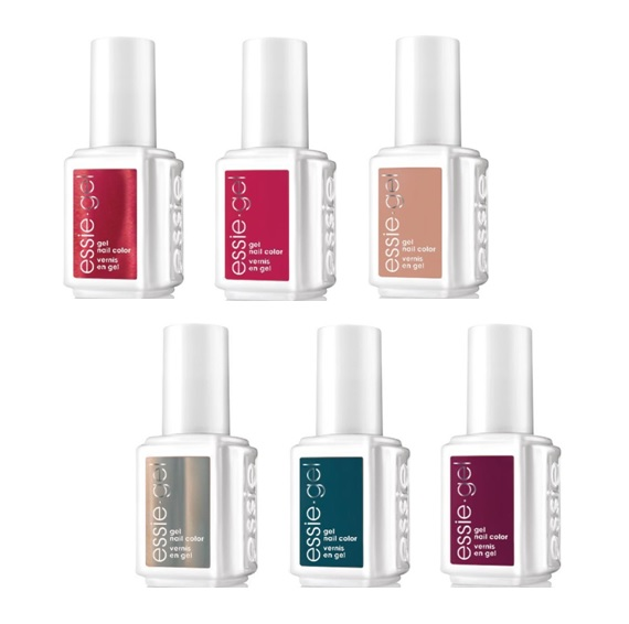 Essie Gel Polish – Winter 2017 Collection – All 6 Colors – 12.5 mL ...
