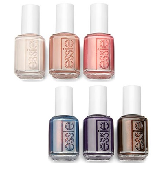 Essie Desert Mirage Collection Nail Lacquer – All 6 Colors -13.5 mL ...