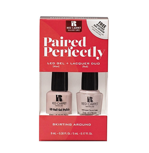 Red Carpet Manicure – Paired Perfectly GEL & Lacquer DUO – Skirting ...
