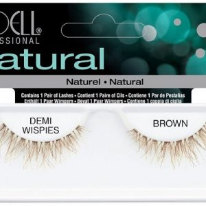 demi wispies brown- natural
