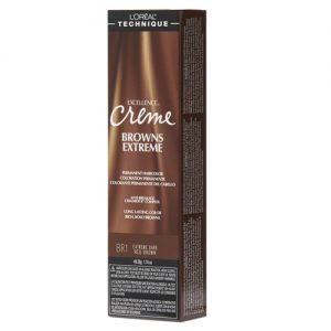 BR1 extreme dark red brown