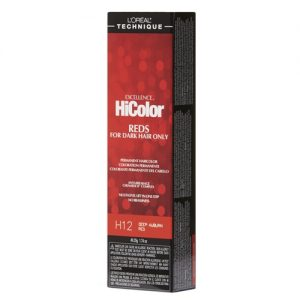 H12 deep auburn red