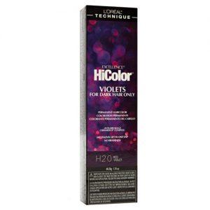 H20 red violet