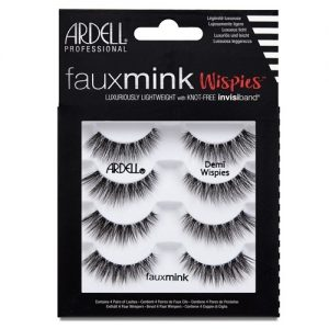 4pk faux mink - demi wispies