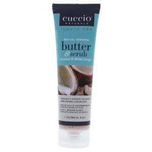 butter and scrub - coconut and white ginger