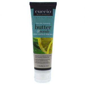 butter and scrub - white limetta and aloe vera