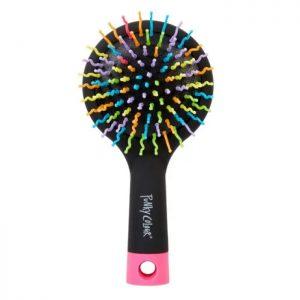 rainbow detangler hair brush