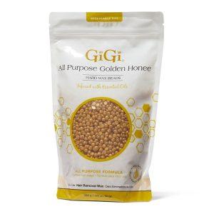 golden wax beads